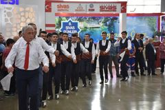 Sivas dagar 2017 Ä°stanbul, Turkiet Fotografering för Bildbyråer