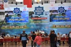 Sivas dagar 2017 Ä°stanbul, Turkiet Arkivbild