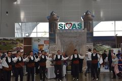 2017 Sivas-Dagen Ä°stanbul, Turkije royalty-vrije stock fotografie