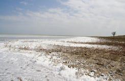 湖Sivash 库存照片