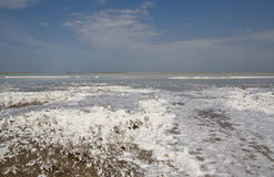 湖Sivash 免版税图库摄影