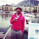 Sive dyidi. Jc relaxed @ V&A waterfront Stock Photo