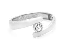 Siver Dimond Bracelet Stock Images