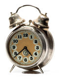 Silver Old Clock Stock Images