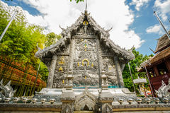Siver Temple in Thailand Royalty Free Stock Photos