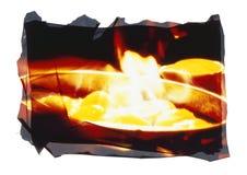 Siviera della fiamma Immagini Stock