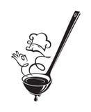 Siviera e vapore di minestra royalty illustrazione gratis