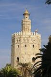 Siviglia - Torre del Oro Immagini Stock