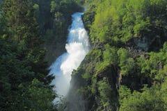 Sivlefossen en Norvège Photographie stock