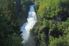 Sivlefossen in Norway Stock Photography