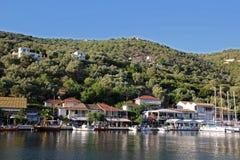 Порт Sivota Стоковое фото RF