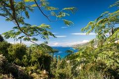 Sivota bay. A view of Sivota Bay, Northern Greece Stock Photo