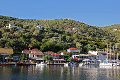Sivota Port Royalty Free Stock Photo