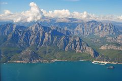 Sivri mountains west of Antalya. In Turkey Stock Image