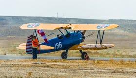 Sivrihisar, Eskisehir, Turquie - 17 septembre 2017 : Sivrihisar Airshows (SHG), petit événement d'aviation montré dans SUSHM images libres de droits