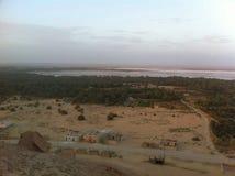 Siwa-Oase, Ägypten lizenzfreies stockbild