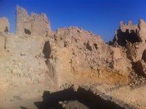 Siwa Oasis, Egypt. Amon's Temple, Siwa Oasis, Egypt Stock Photo