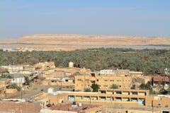 The Siwa Oasis in the Sahara of Egypt Royalty Free Stock Photos