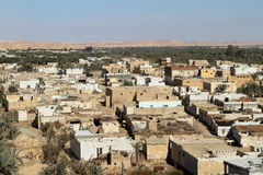 The Siwa Oasis in the Sahara of Egypt Stock Photography