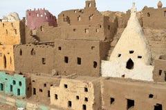 The Siwa Oasis in the Sahara of Egypt stock photo