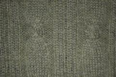 Siwieję handcrafted bawełnianej tkaniny teksturę obrazy stock