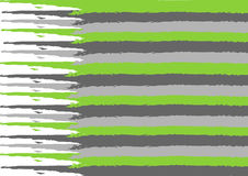 Siwieje akwarela lampasów teksturę i zielenieje Obrazy Stock
