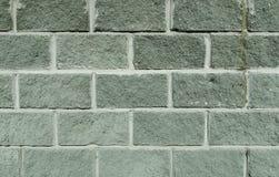 Siwieje betonową cegłę Fotografia Stock