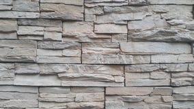 Siwieje cementow? kamienn? ?cian? dla tekstury i t?o abstrakta zdjęcie stock