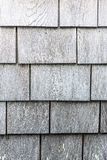 Siwieje drewnianego gont tekstury wzoru portret zdjęcie stock
