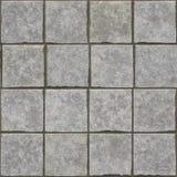 Siwieje kamienną cegły podłoga teksturę Fotografia Stock