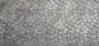 Siwieje kolor Dachówkowej podłoga teksturę dla tła Zdjęcie Stock