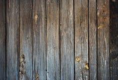 Siwieje krekingową drewnianą starą deskową teksturę zdjęcie stock