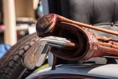 Siwieje 1926 Pierce strza?? przy 32nd Roczny Naples zajezdni klasyka car show obraz royalty free