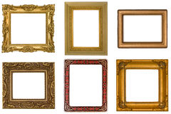 Six Antique Frames royalty free stock photo
