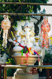 Six-armed Ganesha Altar in Thailand Chiang Mai Stock Photography