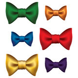 Six beaux rubans colorés Images stock