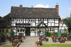 Traditional English pub in billingshurst royalty free stock image