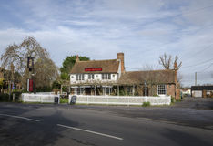 Six Bells Public House in the village of Woodchurch, Kent Royalty Free Stock Images