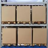 Boîtes à palette photo libre de droits