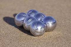 Six boules-1 Royalty Free Stock Image
