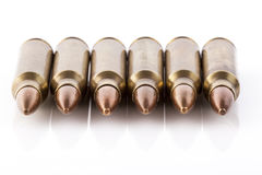 Six Bullets Front Royalty Free Stock Photo