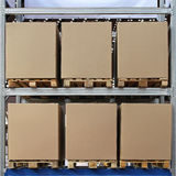 Pallets boxes Royalty Free Stock Photo