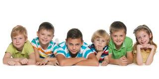 Six children Stock Photos