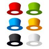 Six color hat Stock Photos