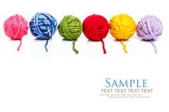 Yarn balls Stock Image