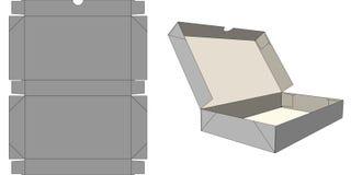 Six-corner carton Stock Images