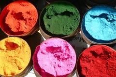 Six couleurs Image libre de droits