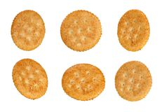 Six Crackers Royalty Free Stock Images