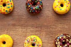 Six donuts Stock Photos