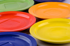 Six plates Royalty Free Stock Image